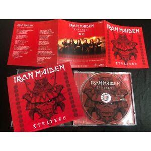 CD Slipcase Iron Maiden 2021 - Stratego - Senjutsu Single Bootleg