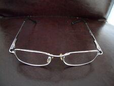 Brillengestell aus Metall silber