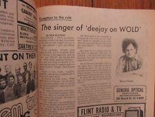 June 30-1974 Flint Michigan Journal TV Maga(HARRY CHAPIN/ELIZABETH BAUR/IRONSIDE