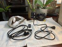 For Vintage Minolta Camcorder RF Output Adapter VRF-1U LOT Of Accessories BUNDLE