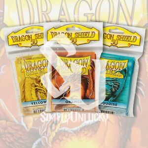 CHOOSE YOUR CARD DRAGON SHIELD SLEEVES | STANDARD SIZE  | Pokemon Magic Digimon