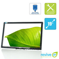 """Asus VE198T 19"""" Widescreen 1440x900 LED LCD Monitor DVI (Monitor Only) Grade B"""