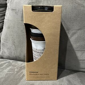 Starbucks The First Store Pike Place Reusable Hot Cup Set
