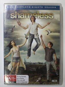 Shameless - The Complete Eighth Season - 3 DVD set - NTSC Reg 4 - FREE POST