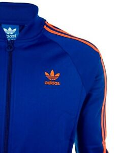 LG  adidas  Originals  MEN'S  Superstar  TRACK JACKET Blue  M30907  RARE!  LAST1