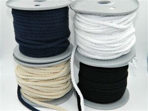 5 Metre Cotton Cord 6 MM (0,70 €/M) 4 Colors