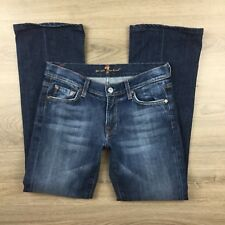 7 for All Mankind Boot Cut Mid Rise Size 27 Women's Jeans (CG8)