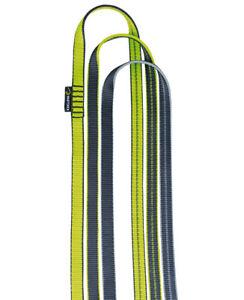 Edelrid 16 mm Bandschlinge, Tubular Band Schlinge, Klettern Sichern Länge 30 cm
