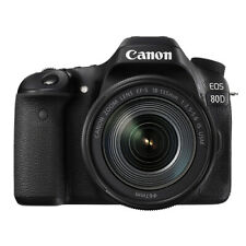 Canon EOS 80D Digital SLR Camera with 18-135mm EF-S f/3.5-5.6 IS USM Lens