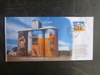 2018 AUSTRALIA SILO ART WEETHALLE, NSW ILLUSTRATED FDC FIRST DAY COVER