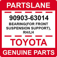 90903-63014 Toyota OEM Genuine BEARING(FOR FRONT SUSPENSION SUPPORT), RH/LH