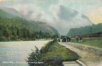 WHITE MOUNTAINS NH – Clouds at Crawford Notch - 1907