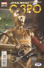 "ANTHONY DANIELS Signed Autographed ""C3-PO"" STAR WARS Comic Book PSA/DNA #AC13271"