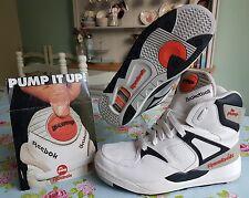 """REEBOK """"La pompe"""" ERS OG Basketball Trainers in original garniture Taille UK7"""