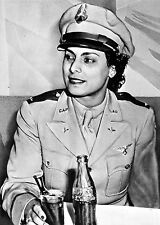 WILLA BEATRICE BROWN-First Negro Woman Lieutenant in Civil Air Patrol-About 1943