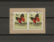"TANZANIA 1970-73 O53b ""Overprint Inverted "" ERROR USED Cat £800"