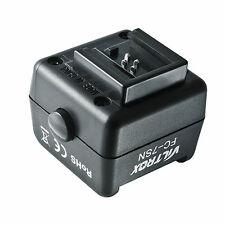 Déclencheur Esclave pour Flash Canon Nikon à Sabot Hot Shoe Sony Appareil Photo
