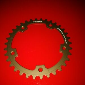 Campagnolo 36T Super Record/Record/Chorus 11sp 110mm BCD Road , compact . NOS !