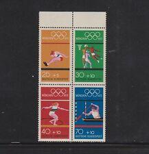Briefmarken-Zusammendrucke aus der BRD (ab 1945) mit Olympische Spiele