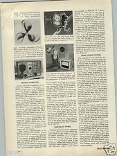 1956 PAPER AD Penn Fishing Reel Article News About Retooling for Better Reels