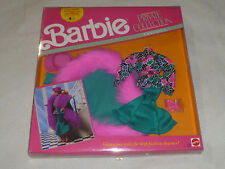 NEW IN BOX BARBIE PRIVATE COLLECTION FASHIONS SET 7096 MATTEL 1990 NOC VINTAGE >