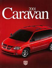Dodge Caravan Prospekt USA 2001 brochure Autoprospekt Auto Pkw Personenwagen car