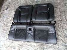 Audi TT 8N 1998-06 MK1 225 Quattro 1.8T rear black leather seats interior coupe