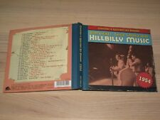 Country & Western Hit Parade 1954 CD - Hillbilly Music / Bear Family in Mint
