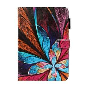 """For iPad Mini Air Pro 9.7"""" 10.2"""" 10.5"""" Smart Patterns Leather Stand Case Cover"""