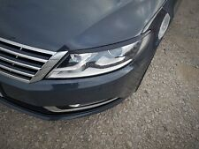 VW  Passat CC post 2013 - eyebrows genuine ABS headlights NEW eye lids spoiler