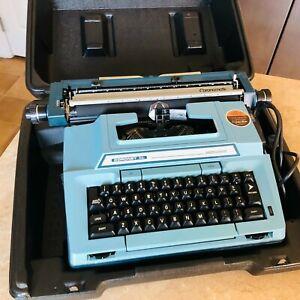 vtg smith corono xl typerwriter electric works great w case & original box