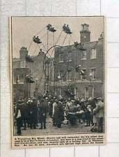 1923 Travelling Big Wheel Holiday Fair At Peckham Rye