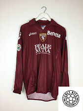 Torino Rosina # 10 06/07 L / S Home Football Shirt (L) SOCCER JERSEY ASICS