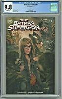 Batman Superman #1 CGC 9.8 Comics Elite Edition F John Giang Variant Cover 3000