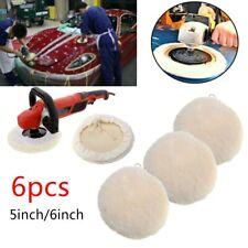 Wool Polishing Pads Auto Buffing Polish Bonnet Wool Felt Disc Vehicle Accessory