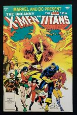 The Uncanny X-Men and The New Teen Titans #1 (1982): High Grade!