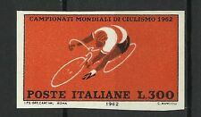 Italie Italy Sport Cyclisme Cycling Radsport Non Dentele Imperf Proof ** 1962