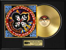 KISS - ROCK AND ROLL OVER LP GOLDENE SCHALLPLATTE #17