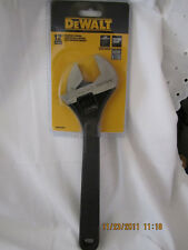 "DeWalt 12"", 304mm Adjustable Wrench Jaw Capacity 1 5/8 41mm DWHT70292  New"