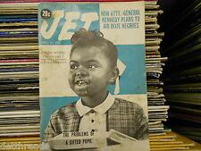 VINTAGE JET MAG -4/20/61- Florence Talbert / Eartha Kitt / Billy Eckstine