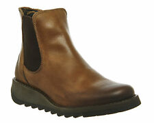 FLY London Pull On Wedge Casual Boots for Women