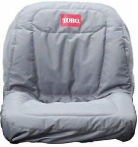NEW GENUINE OEM TORO PART # 117-0096 SEAT COVER WITHOUT ARMREST FOR TIMECUTTERS