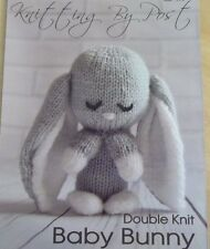 BABY BUNNY RABBIT VERY CUTE SOFT TOY KNITTING PATTERN TO MAKE YOURSELF