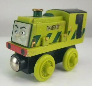 2003 Thomas & Friends Wooden Railway Scruff Train Engine Green 0031WJ00