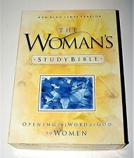 NKJV The Woman's Study Bible Opening the Word of God to Women NEW BONDED LEATHER