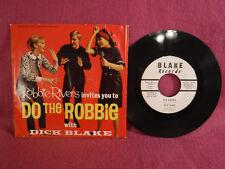 Dick Blake, The Robbie, Blake Records DB 001, 1966, Robbie Rivers, Rock