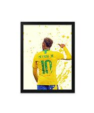 Neymar Jr Footballer Print, Poster, Prints, Posters