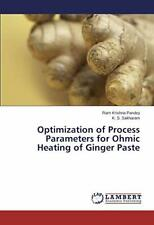 Optimization of Process Parameters for Ohmic Heating of Ginger Paste. Krishna.*=