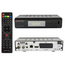 DVB-T2 Receiver H265 HDMI RED Opticum TERRA plus HD 265 Full-HD USB SCART LAN
