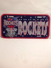 Houston Rockets NBA Plastic License Plate MUST L@@K